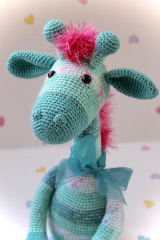 عروسک زرافه Naughty giraffe amigurumi pattern | Amigurumi pattern ... | 491x327